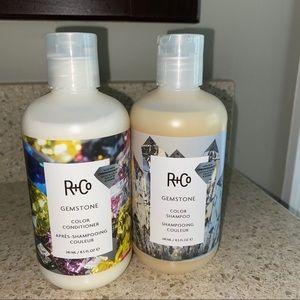R+Co Gemstone shampoo & conditioner 8.5 …